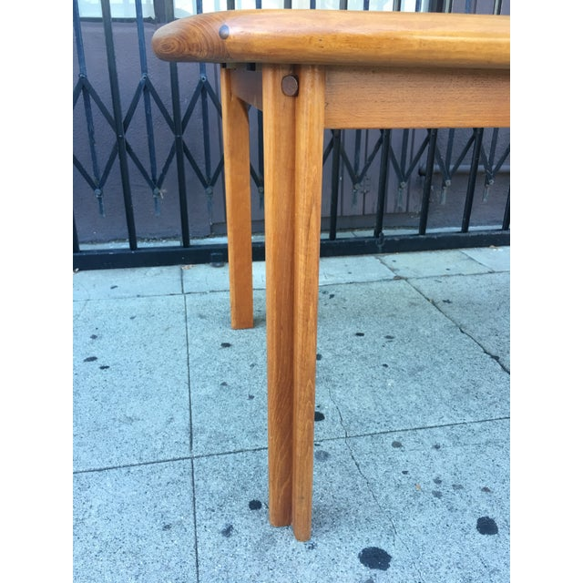 Diethelm Scanstyle Danish Modern Butterfly Dining Table in Teak For Sale - Image 9 of 13