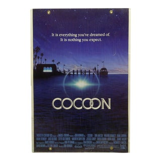 "1985 Mounted Original ""Coccoon"" a Ron Howard Film Movie Poster"