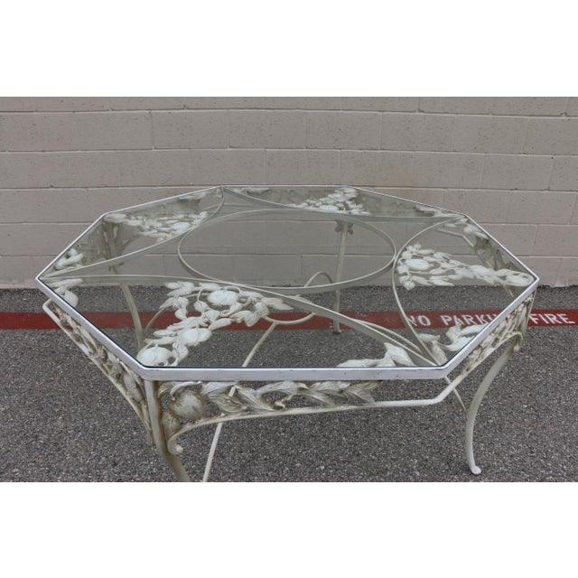 Metal Fruit Accent Patio Set - Set of 5 For Sale - Image 10 of 13