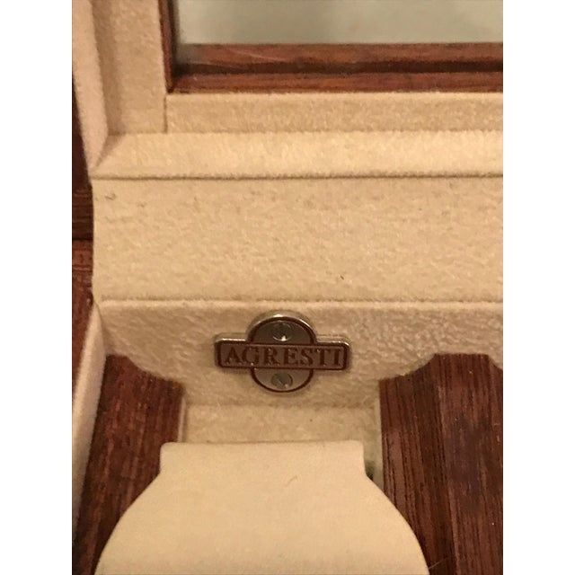 Agresti Briar Wood Watch Case For Sale - Image 9 of 9