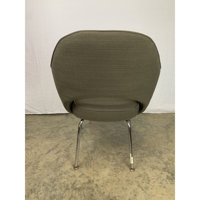 Mid 20th Century Executive Arm Chair Attributed to Eero Saarinen for Knoll For Sale - Image 5 of 11