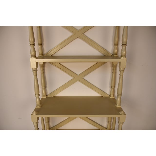 Regency Style Painted 5-Tier Etagere For Sale In New York - Image 6 of 6