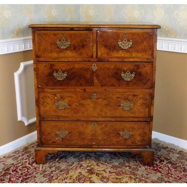 Antique American Walnut & Elm Bedroom Chest - Image 2 of 10
