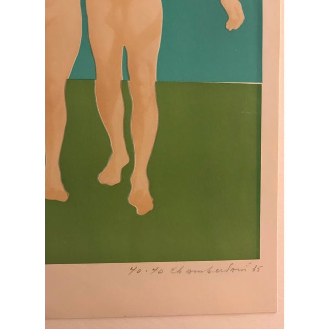Figurative Nudes by Wynn Chamberlain 1965 For Sale - Image 3 of 4