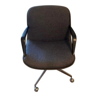 Vintage Mid Century Steelcase Chair For Sale