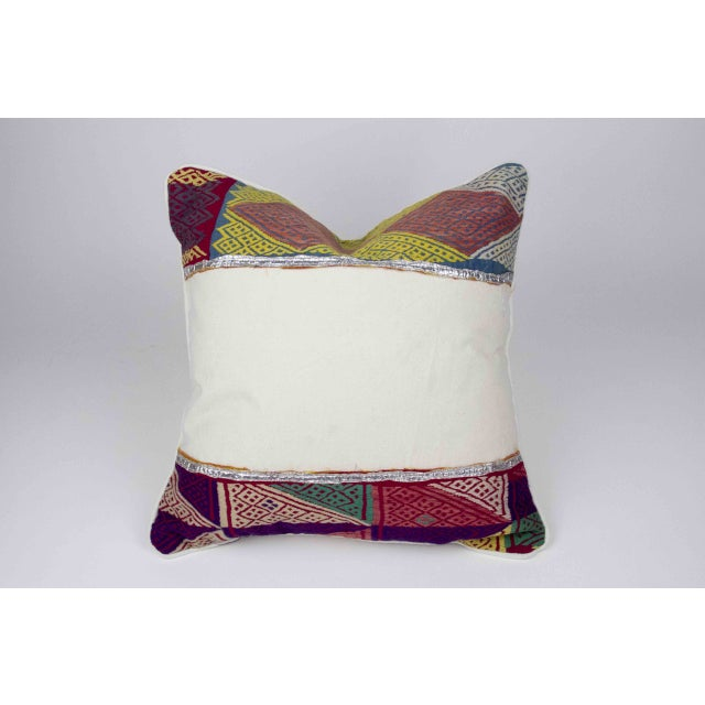 Rana Tribal Lace Pillow - Image 3 of 4