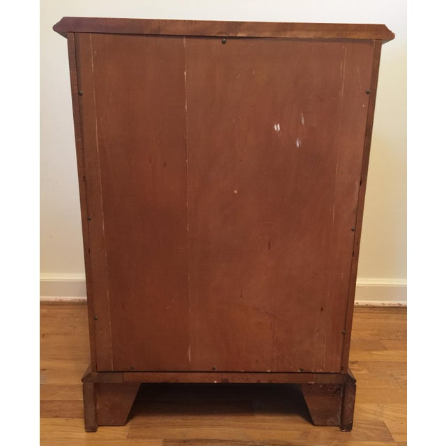 1950s Mid Century Modern Ethan Allen Baumritter Maple Wood Night Table For Sale - Image 9 of 11