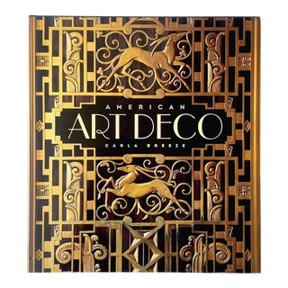 """ American Art Deco : Architecture and Regionalism "" First Edition Large Volume Hardcover Design Survey Book For Sale"