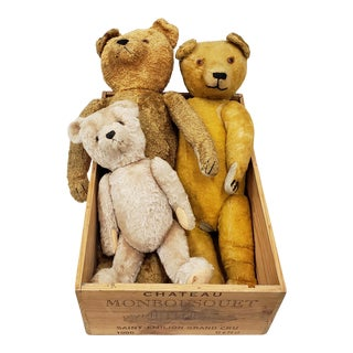 The Three Bears - Family of Stuffed Bears - Possibly Steiff For Sale