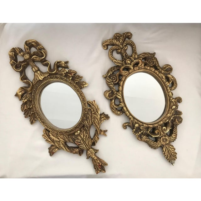French Baroque Gilt Mirrors - A Pair - Image 2 of 11