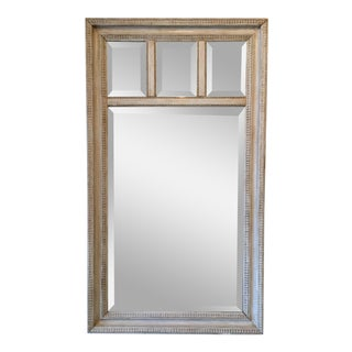 English Painted Bevelled Mirror For Sale