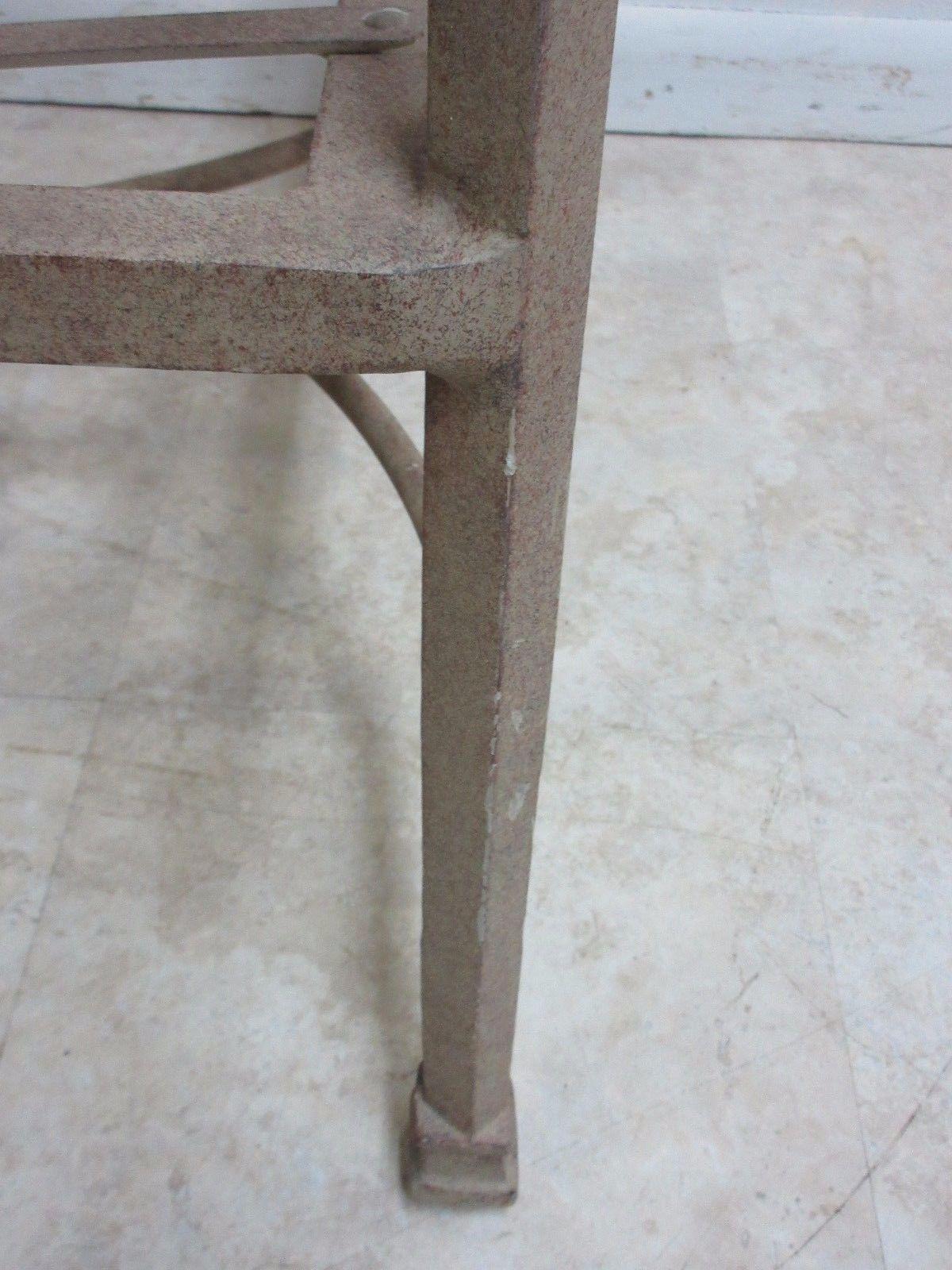 1990s Woodard Landgrave Cast Classics Aluminum Patio Lounge Chair For Sale    Image 5 Of 6