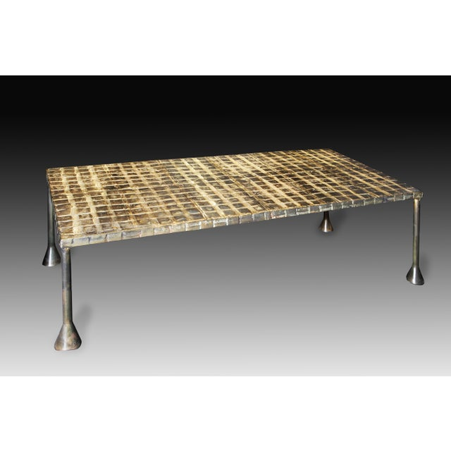 Contemporary Christine Rouviere Kabuto Coffee Table For Sale - Image 3 of 3