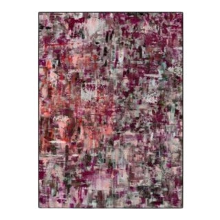 Abstract Multicolored Revelry Artwork on Canvas For Sale
