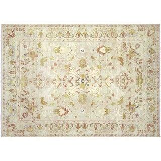 "Nalbandian - 1950s Spanish Alcaraz Carpet - 9'8"" X 13'8"" For Sale"