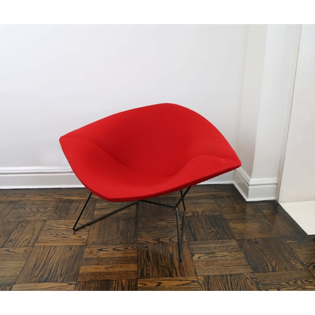 Mid-Century Modern Mid-Century Modern Harry Bertoia for Knoll Diamond Chair For Sale - Image 3 of 8