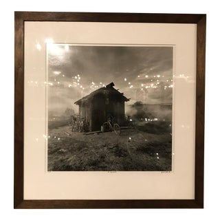 Black and White of Brazil Hut For Sale