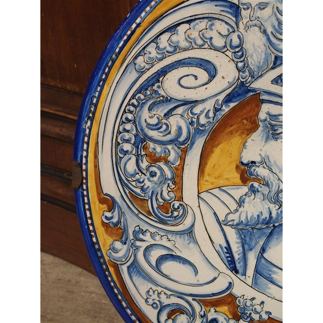 Antique Renaissance Style Platter from Spain For Sale - Image 4 of 10