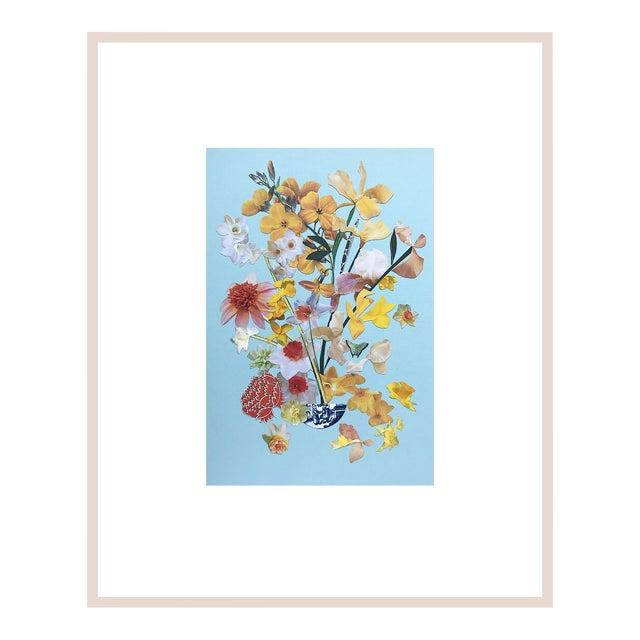 """Marcy Cook """"Limoncello Cetona """" Original Fine Art Collage For Sale"""