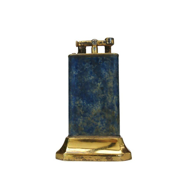 Dunhill Aged Lift Arm Table Lighter by Dunhill - 50th Anniversary Sale For Sale - Image 4 of 9