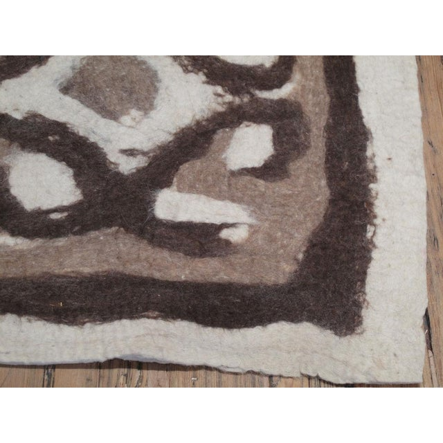 Felt Rug For Sale In New York - Image 6 of 6