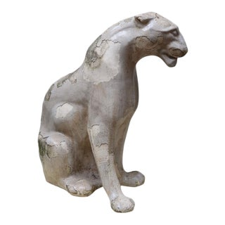A Glazed Stonewere Panther, France 1940
