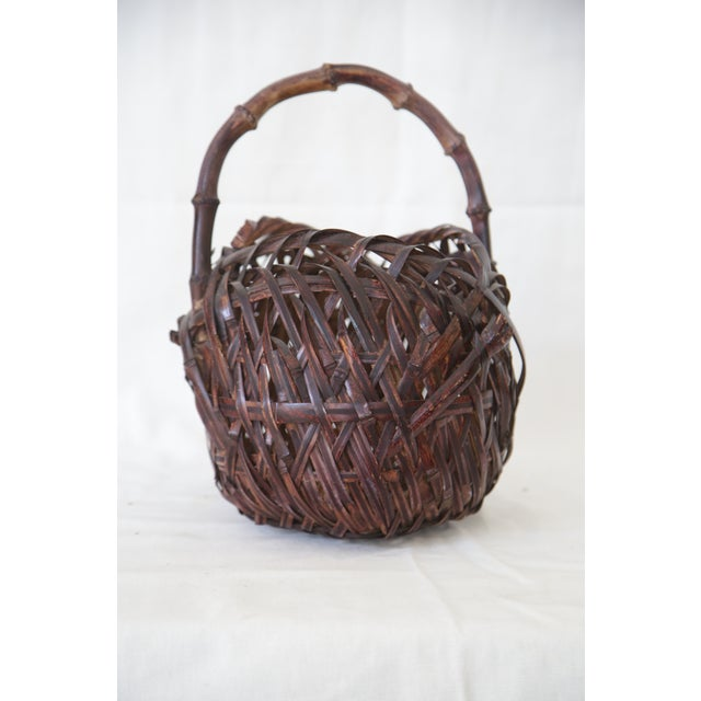 Japanese Woven Basket - Image 3 of 4