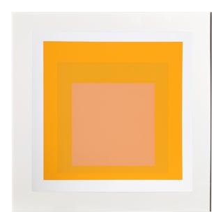 Josef Albers - Portfolio 1, Folder 15, Image 2 Framed Silkscreen For Sale