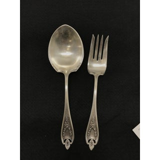 Vintage Sterling Serving Utensils - a Pair Preview