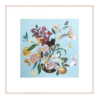 "Marcy Cook ""Spritz in Ravello"" Original Fine Art Collage For Sale"