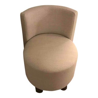 Upholstered Occasional Dressing Chair For Sale