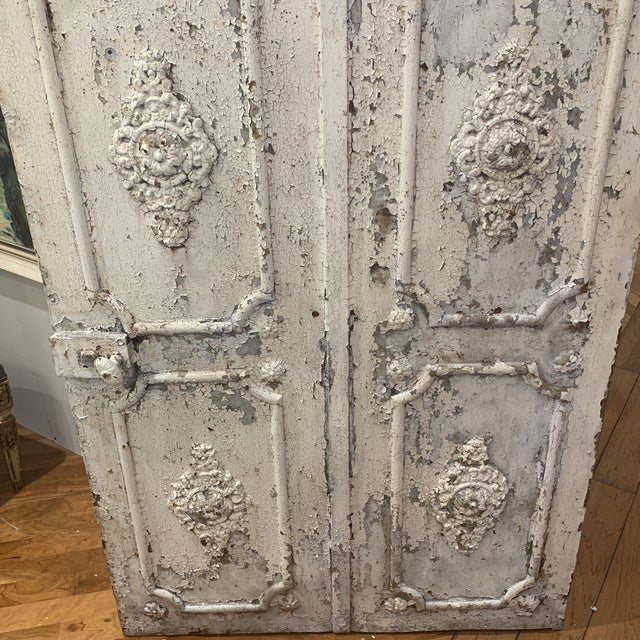 Mid 19th Century 1880s Vintage French Decorative Garden Gate For Sale - Image 5 of 12