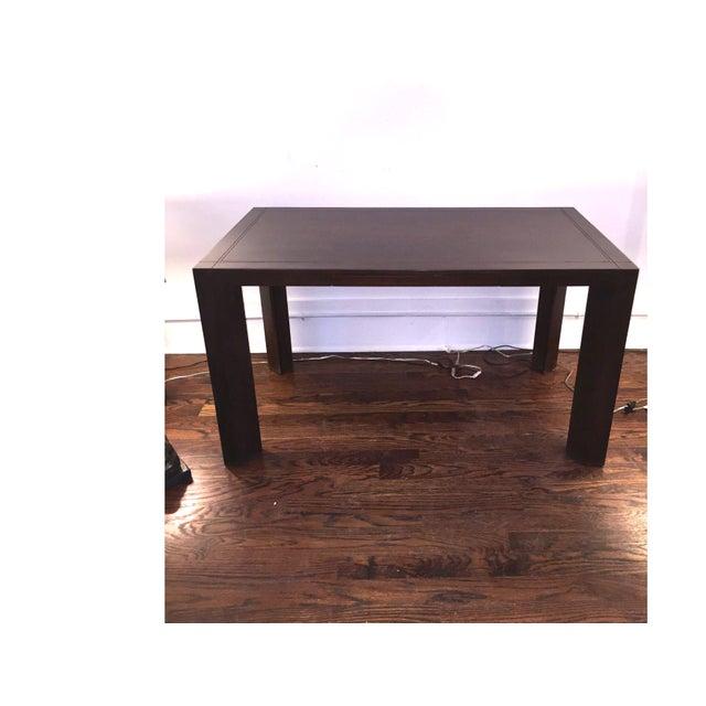 Keller Williams Mid-Century Parson Style Desk - Image 3 of 4