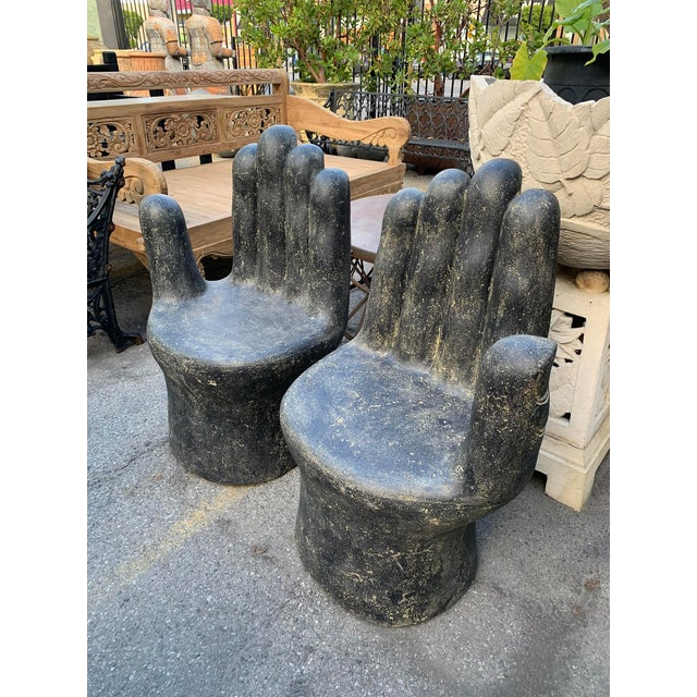 Giant Garden Hand Chair (Right Hand) For Sale In Los Angeles - Image 6 of 7