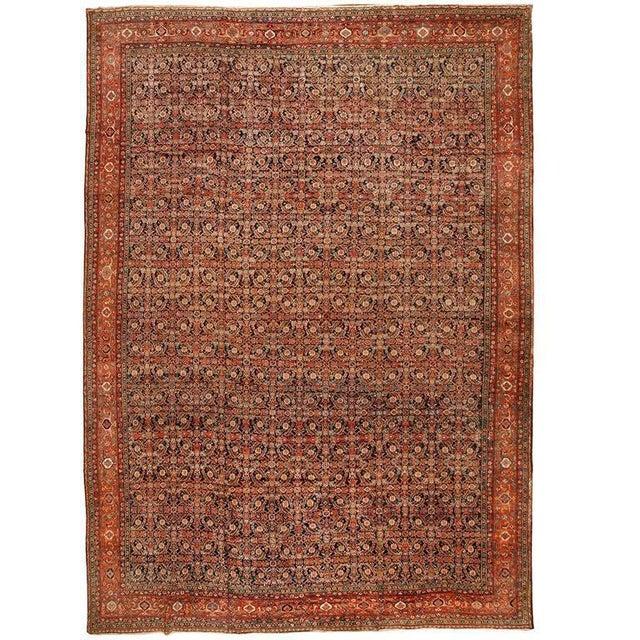 Exceptional Antique 19th Century Persian Fereghen Carpet - Image 2 of 2