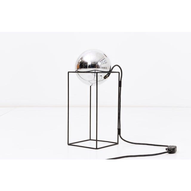 Mid-Century Modern Table Lamp In the Style of Angelo Lelli For Sale - Image 3 of 6