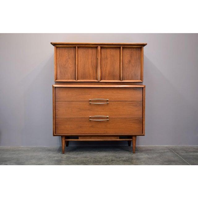 On Hold - Kent Coffey Walnut Highboy Dresser - Image 11 of 11