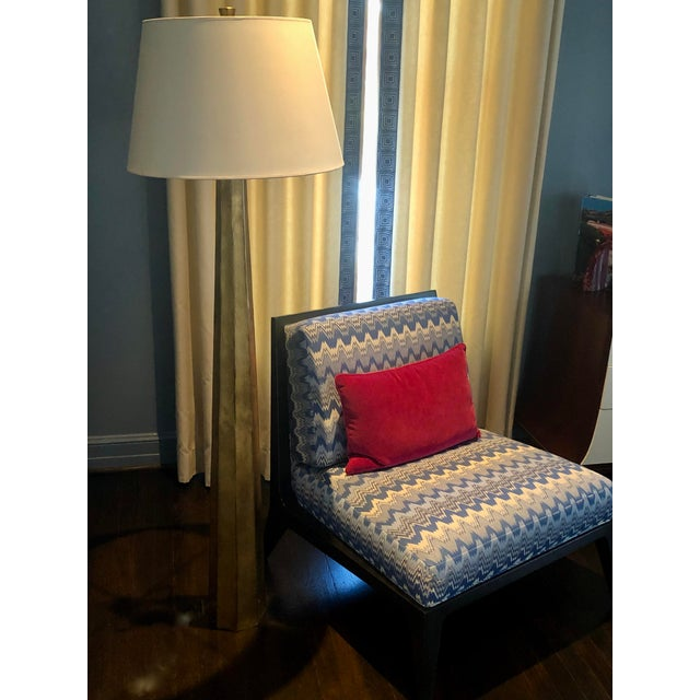 Transitional E.F. Chapman for Visual Comfort Fluted Spire Floor Lamp For Sale - Image 3 of 11