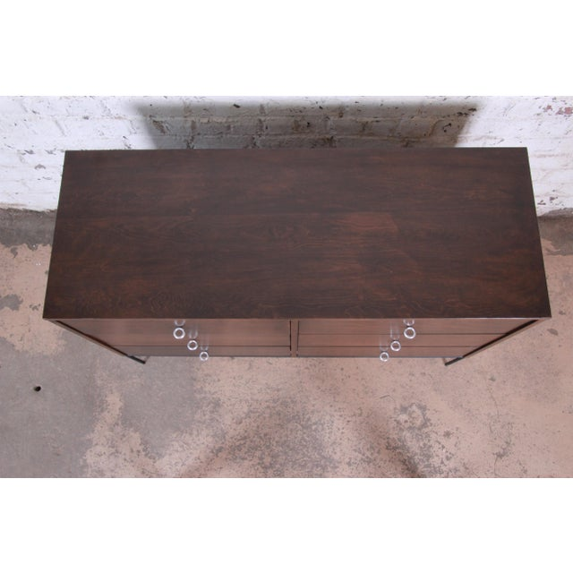 Paul McCobb Planner Group Iron Base Six-Drawer Dresser or Credenza For Sale - Image 10 of 13