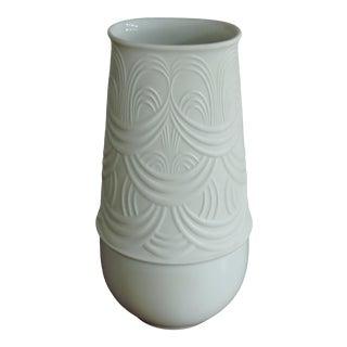 Bjorn Wiinblad Rosenthal Studio Line White Porcelain Vase For Sale