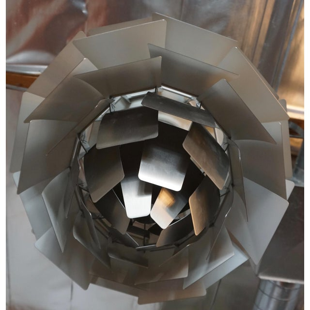 "Mid-Century Modern ""Artichoke "" Pendant Lamp by Poul Henningsen For Sale - Image 3 of 7"