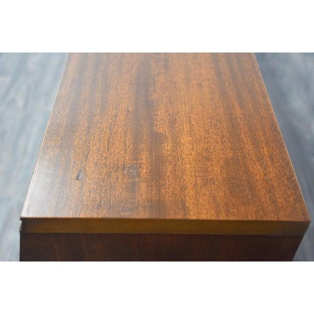 Wood Frank Lloyd Wright for Henredon Taliesin King Headboard For Sale - Image 7 of 13