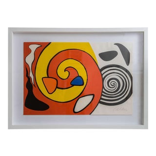 "Artist Proof, Signed Lithograph ""Spirale et Turbane"": Alexander Calder, 1965"