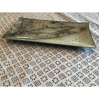 Long Island Map Decoupage Tray Preview