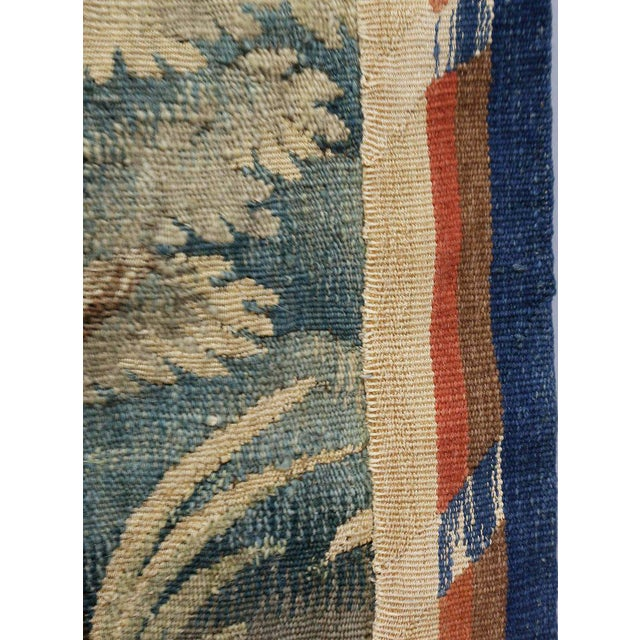 Blue Aubusson Landscape Tapestry For Sale - Image 8 of 9