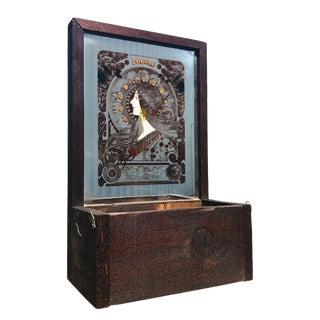 Vintage Art Nouveau Lucid Lines Wooden Mirrored Zodiac Planter