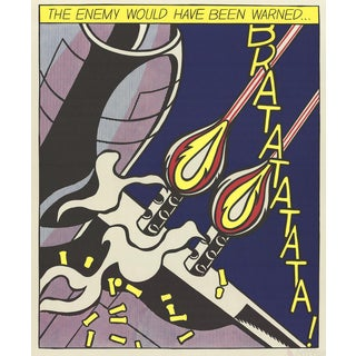 Roy Lichtenstein, The Enemy Would Have Been Warned (Panel 2) Poster For Sale