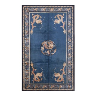 """Antique Chinese Peking Rug 7'0"""" X11'8"""" For Sale"""