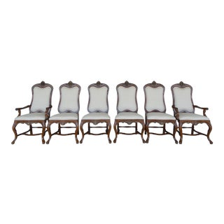 Drexel Heritage Hampshire Collection Dining Chairs - Set of 6 For Sale