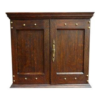 Early 20th Century Antique English Oak Portable Desk For Sale